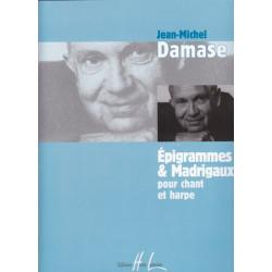 Damase Jean-Michel - Epigrammes & Madrigaux (voix & harpe)