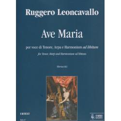 Leoncavallo Ruggero - Ave Maria (voix & harpe)