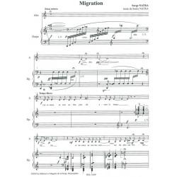 Natra Serge - Deux poemes (voix & harpe)