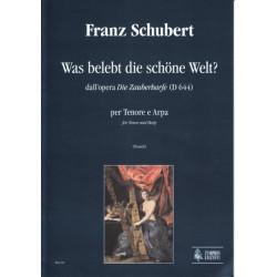 Schubert Franz - Was belebt die schöne Weltz ? (Die Zauberharfe) (voix & harpe)