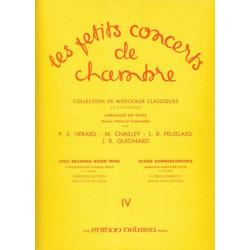 Divers Auteurs - Les petits concerts de chambre Vol. 4 (violon, violoncelle & piano ou harpe)