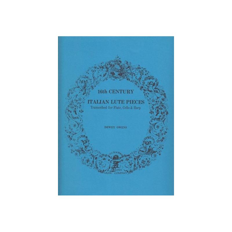 Divers auteurs - Italian lute pieces (fl