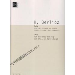 Berlioz Hector - Trio op.25 (2 flûtes & harpe)