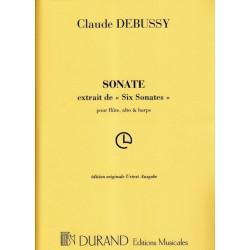 Debussy Claude - Sonate en trio (fl
