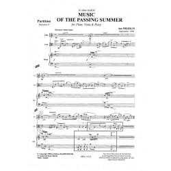 Freidlin Jan - Music of Passing Summer (fl