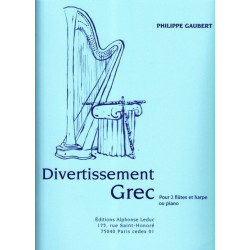 Gaubert Philippe - Divertissement (2 fl