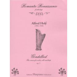 Holy Alfred - Gondellied (Gondoliera) (violon, violoncelle & harpe)