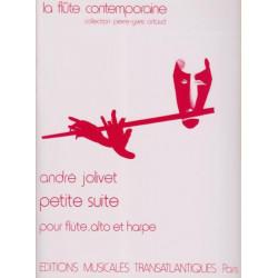 Jolivet André - Petite Suite (alto, flûte & harpe)