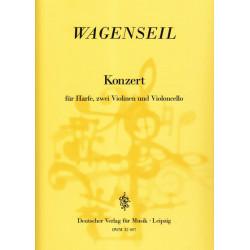 Wagenseil Georg Christoph - Concerto pour harpe, 2 violons et violoncelle