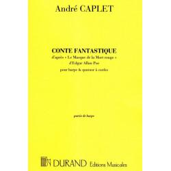 Caplet André - Conte fantastique (partie de harpe)