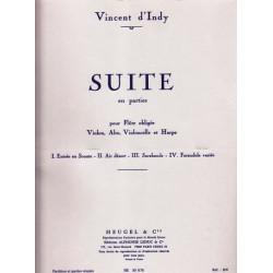 D'Indy Vincent - Suite en parties (alto, fl