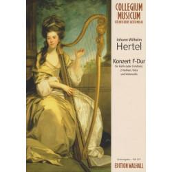 Hertel Johann Wilhelm - Konzert F - Dur