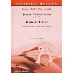 Hertel Johann Wilhelm - Konzert F - Dur (r