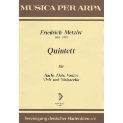 Metzler Friedrich - Quintette (conducteur)