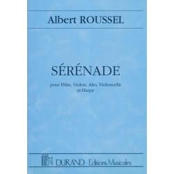 Roussel Albert - Sérénade (conducteur)(alto, flûte, violon, violoncelle & harpe)
