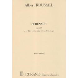 Roussel Albert - Sérénade (parties)(alto, flûte, violon, violoncelle & harpe)