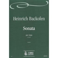 Backofen Johann Georg Heinrich - Sonata per arpa