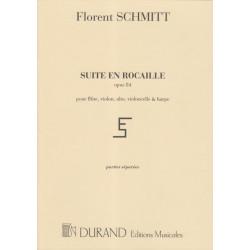 Schmitt Florent - Suite en rocaille (parties)(alto, fl