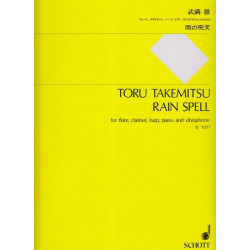 Takemitsu Toru - Rain Spell