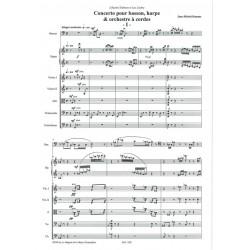 Damase Jean-Michel - Concerto pour basson, harpe et ensemble