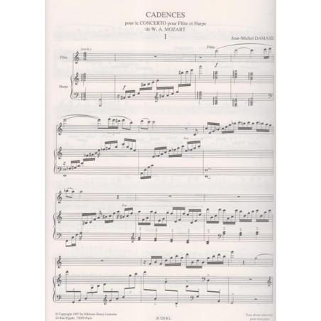 Damase Jean-Michel - Cadence pour le concerto pour fl