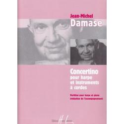 Damase Jean-Michel - Concertino (harpe & r