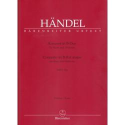 Haendel Georg Friedrich - Concerto en si b (conducteur)
