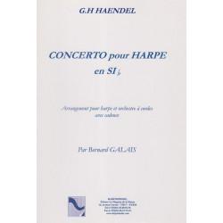 Haendel Georg Friedrich - Concerto pour Harpe, cadence de Galais Bernard