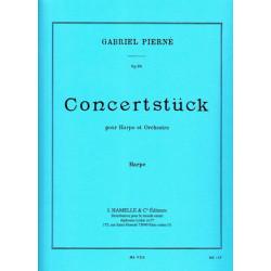 Pierné Gabriel - Concertstück op.39 (partie harpe)