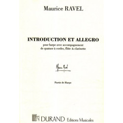 Ravel Maurice - Introduction & allegro (harpe, quatuor