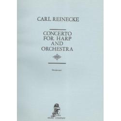 Reinecke Carl - Concerto harpe & orchestre (partie harpe)