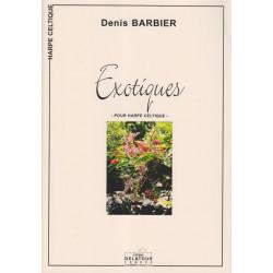 Barbier Denis - Exotiques (harpe celtique)