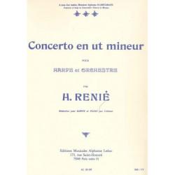 Renié Henriette - Concerto en ut mineur (réduction pour harpe & piano par l'auteur)