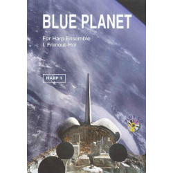 Frimout-Hei Inge - Blue planet (Harp 1) plus CD