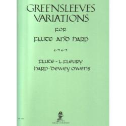 Anonyme - Greensleeves variations (Owens - Fleury)