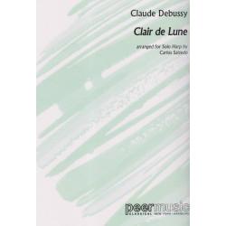 Debussy Claude - Salzedo Carlos - Clair de lune (harpe seule)