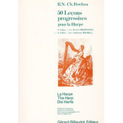 Bochsa Nicola-Charles - 50 leçons progressives (Vol. 2) pour la harpe