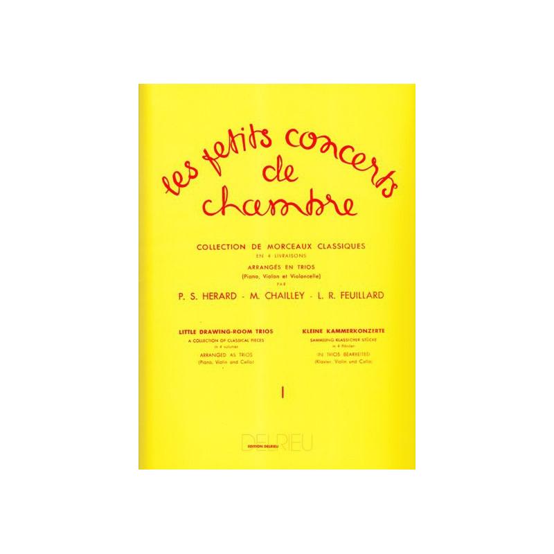 Divers Auteurs - Les petits concerts de chambre Vol. 1 (violon, violoncelle & piano ou harpe)