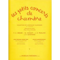 Divers Auteurs - Les petits concerts de chambre Vol. 5 (violon, violoncelle & piano ou harpe)