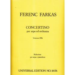 Farkas Ferenc - Concertino (harpe & orchestre - r