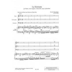 Mercadante Saverio - La Serenata (flûte, cor anglais, violoncelle & harpe ou pianoforte)
