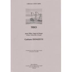 Donizetti Gaetano - Trio (flûte, basson & harpe)