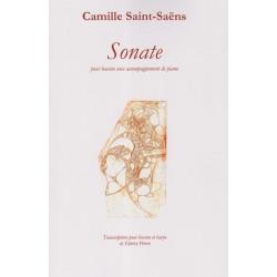 Saint Saëns Camille - Sonate (basson & harpe)