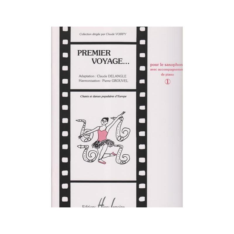Voirpy Alain - Premier voyage vol.1 (saxophone & piano ou harpe)