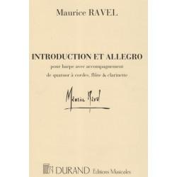 Ravel Maurice - Introduction & allegro (harpe et quatuor