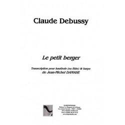 Debussy Claude - Le petit berger (hautbois ou flûte & harpe)