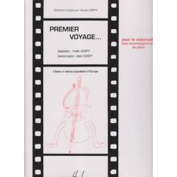 Voirpy Alain - Premier voyage vol.1 (violoncelle & piano ou harpe)