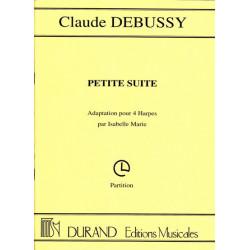 Debussy Claude - Petite suite (4 harpes, parties séparées)
