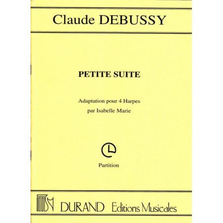Debussy Claude - Petite suite (4 harpes, parties s