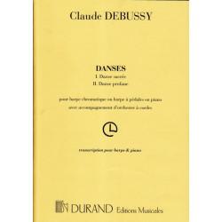 Debussy Claude - Danses (harpe & r